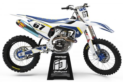 Husqvarna - Design - D1 1 - Custom Bike Decals, Graphics, UK, Indigo Decals