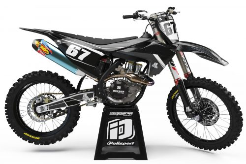 Husqvarna - Design - D1 3 - Custom Bike Decals, Graphics, UK, Indigo Decals