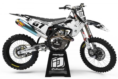 Husqvarna - Design - D3 3 - Custom Bike Decals, Graphics, UK, Indigo Decals