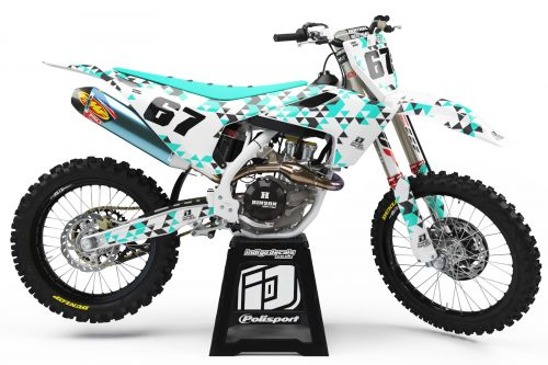 Husqvarna - Design - D4 2 - Custom Bike Decals, Graphics, UK, Indigo Decals