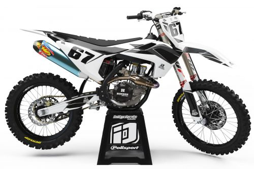 Husqvarna - D6 3 - Custom Bike Decals, Graphics, UK, Indigo Decals