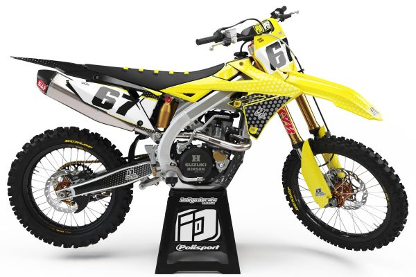 Suzuki RMZ - D5 - 1 - Custom Bike Decals, Graphics, UK, Indigo Decals
