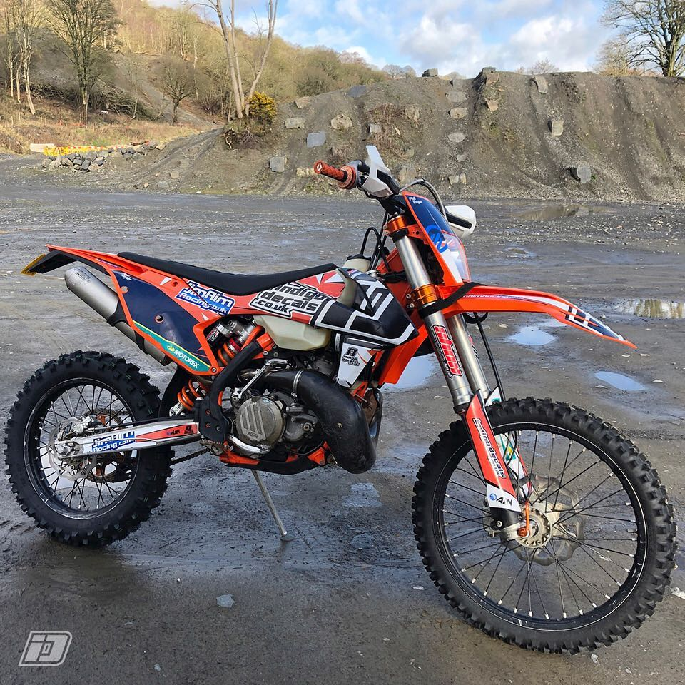 Wern Ddu Quarry extreme enduro training