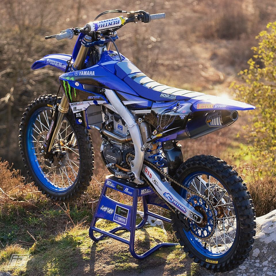 Yamaha YZF 250, Custom Bike Graphics